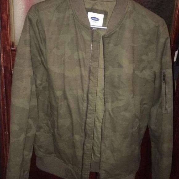 385852243a125 Old Navy Jackets & Coats | Army Fatigue Bomber Jacket | Poshmark